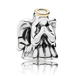 Pandora Divine Angel Charm (Gold/Silver)